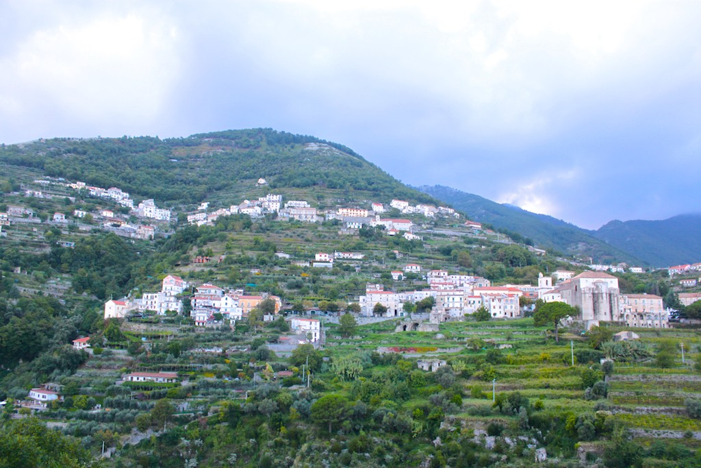 Amalfi Coast Photos - Ravello Mountain Views