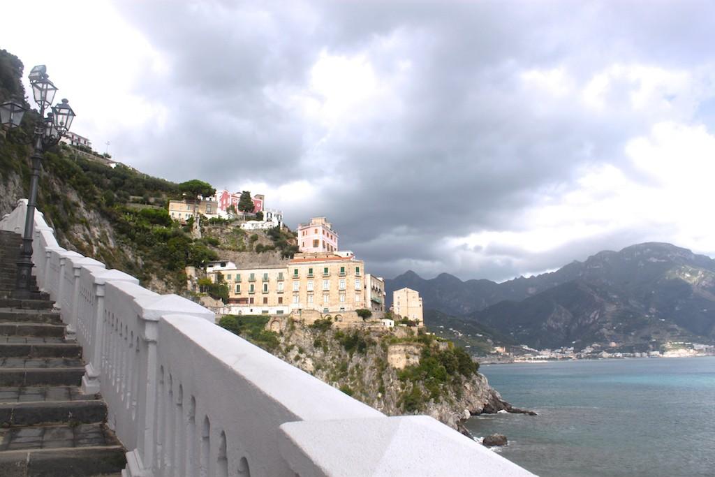 Amalfi Coast Photos - Stairway