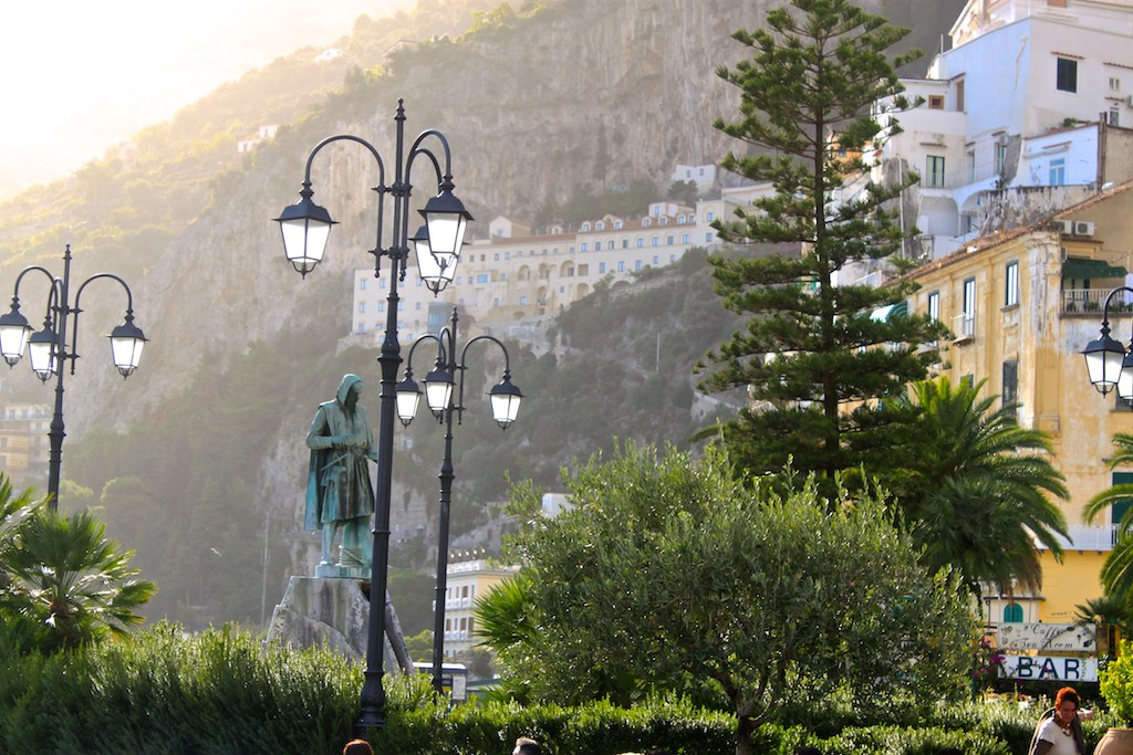 Amalfi Coast Photos - Town Square