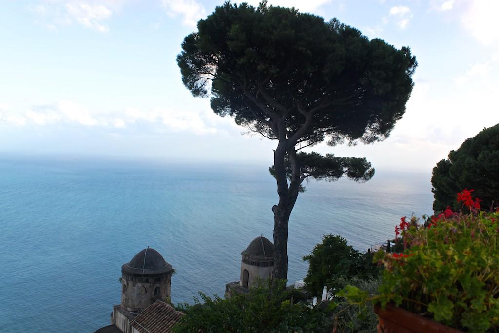 Amalfi Coast Photos - Villa Rufolo Sea Gardens