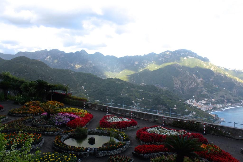 Amalfi Coast - Villa Rufolo Mountains