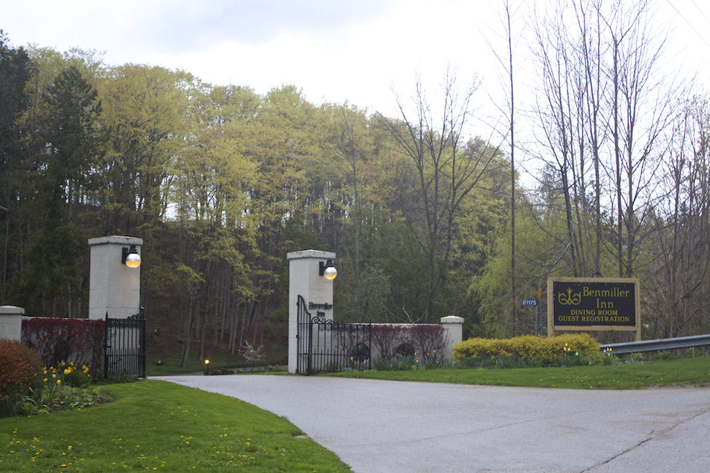 Benmiller Inn and Spa - Entry