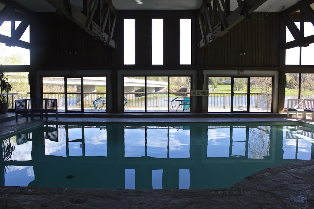 Benmiller Inn and Spa - Pool Reflections