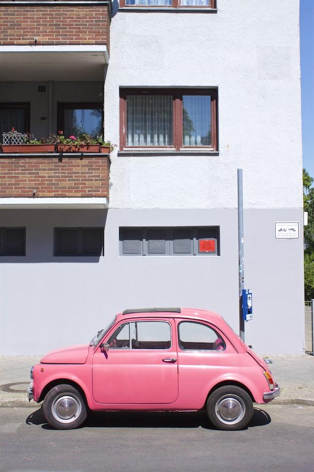 Berlin Walking Food Tour - Neukolln Pink Barbie Car