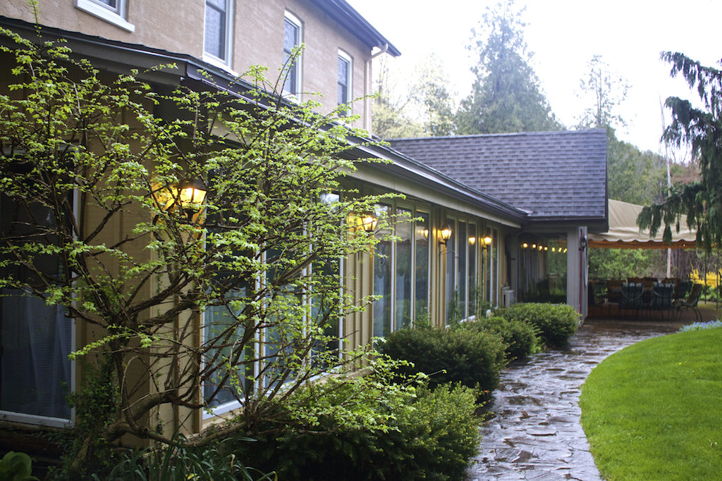 Benmiller Inn and Spa - Ivey Dining Room Entrance