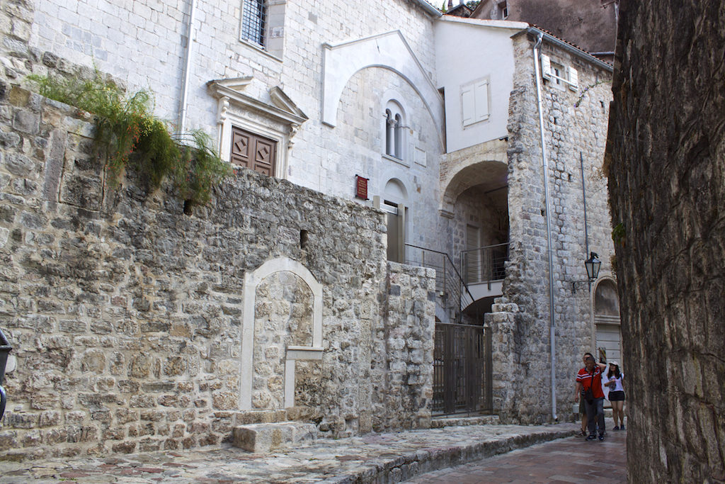 Kotor Montenegro - Along the Walls on Old Town