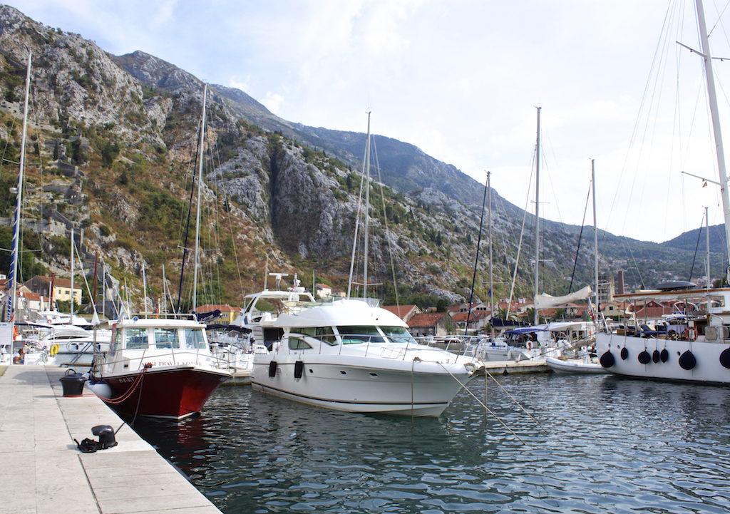 Kotor Montenegro - Boats