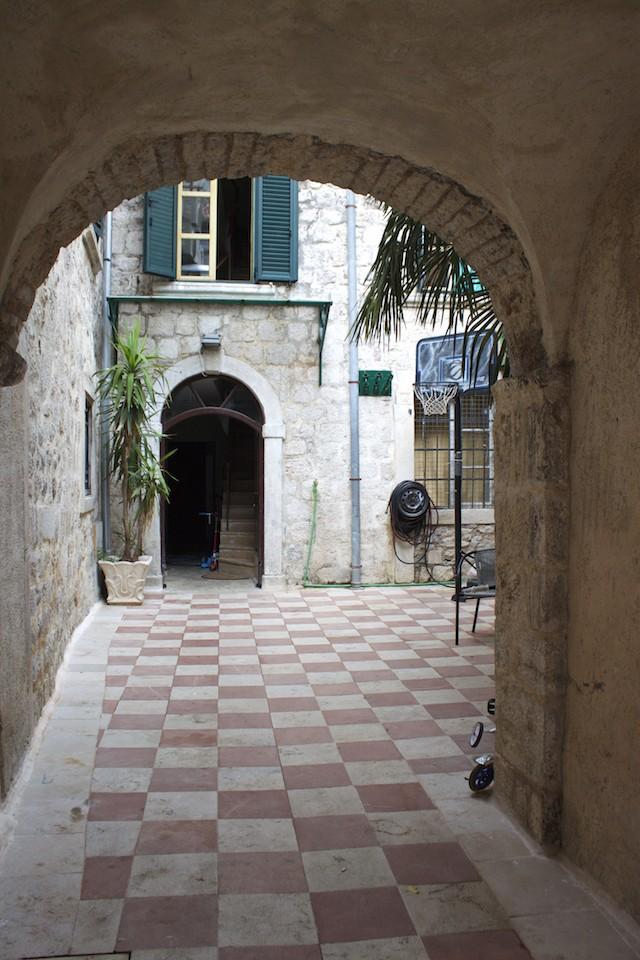 Kotor Montenegro - Courtyard Entrance