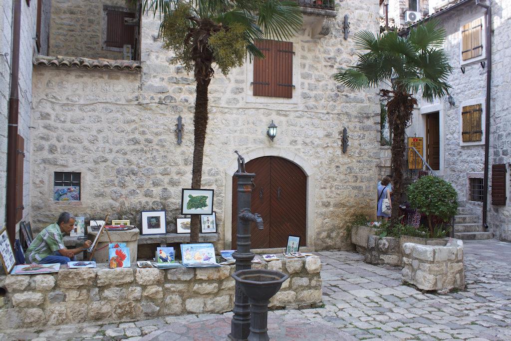 Kotor Montenegro - Old Town Artist