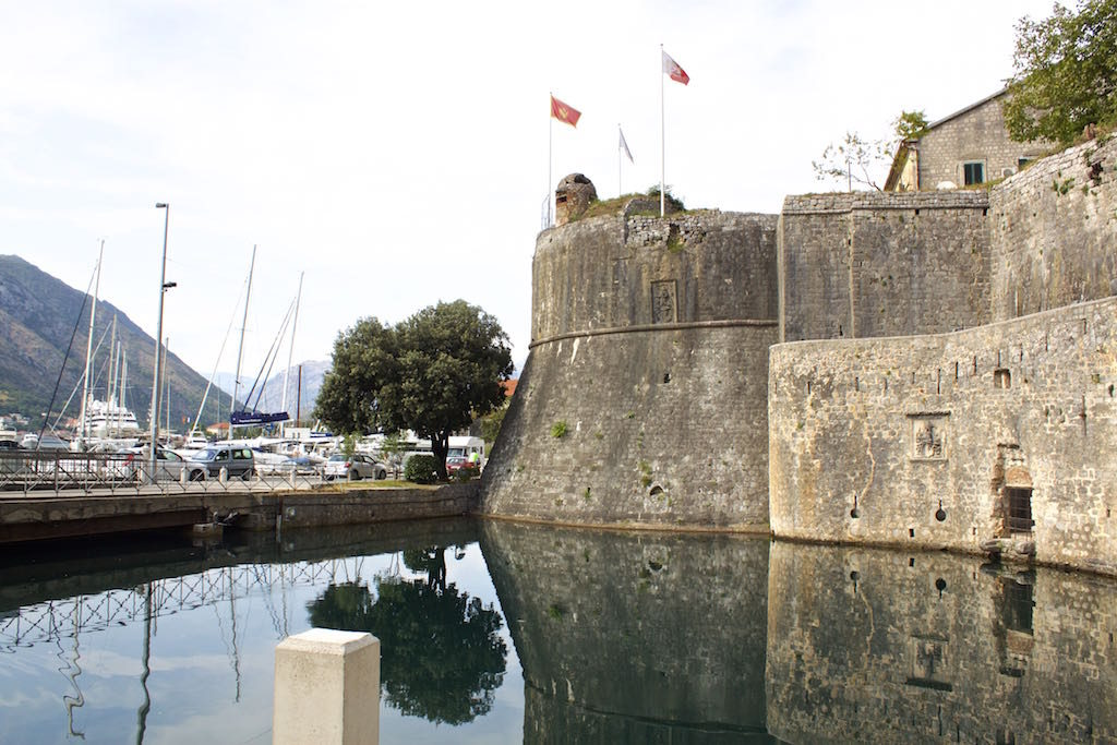 Kotor Montenegro - Old Town Fortifications
