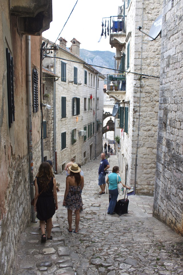 Kotor Montenegro - Old Town Streets