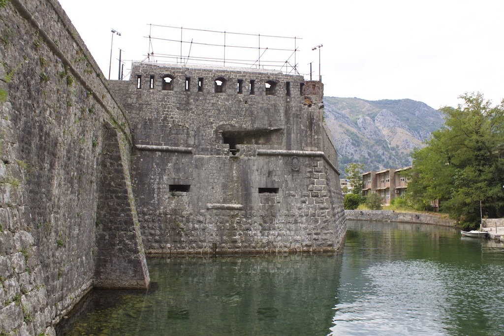 Kotor Montenegro - Old Town Walls and Moat