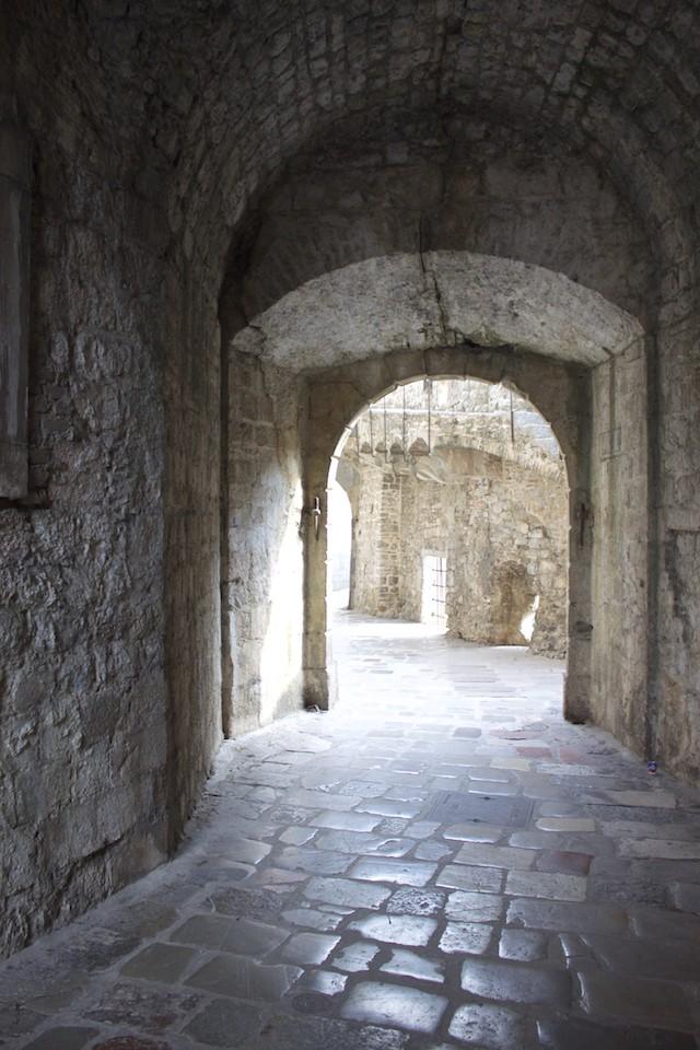 Kotor Montenegro - Old Town Walls