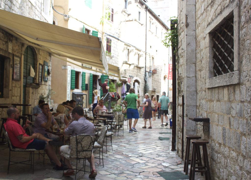 Kotor Montenegro - Outdoor Restaurant Terrace
