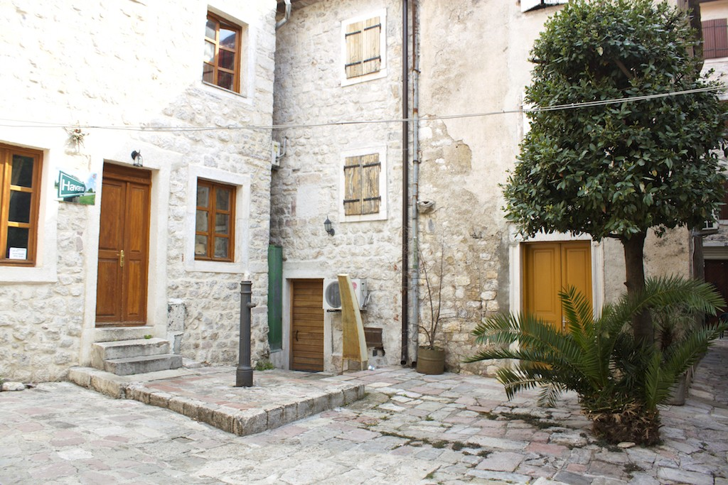 Kotor Montenegro - Peaceful Courtyard