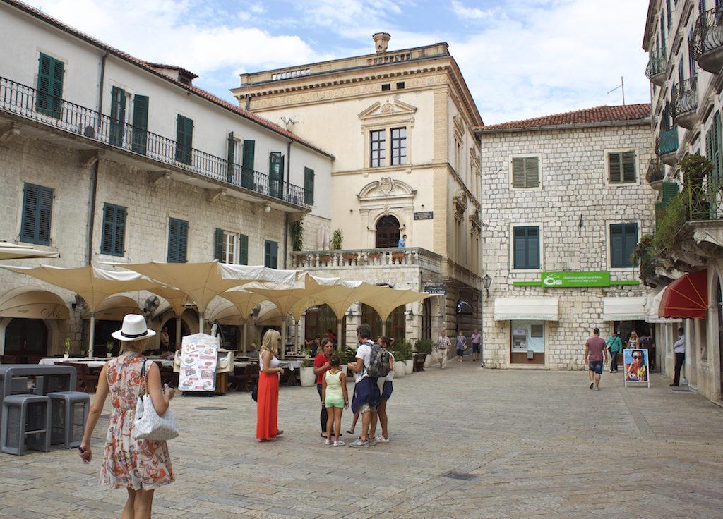 Kotor Montenegro - Piazza Old Town