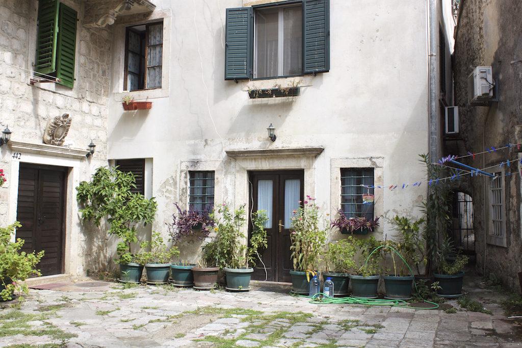 Kotor Montenegro - Residential Courtyard