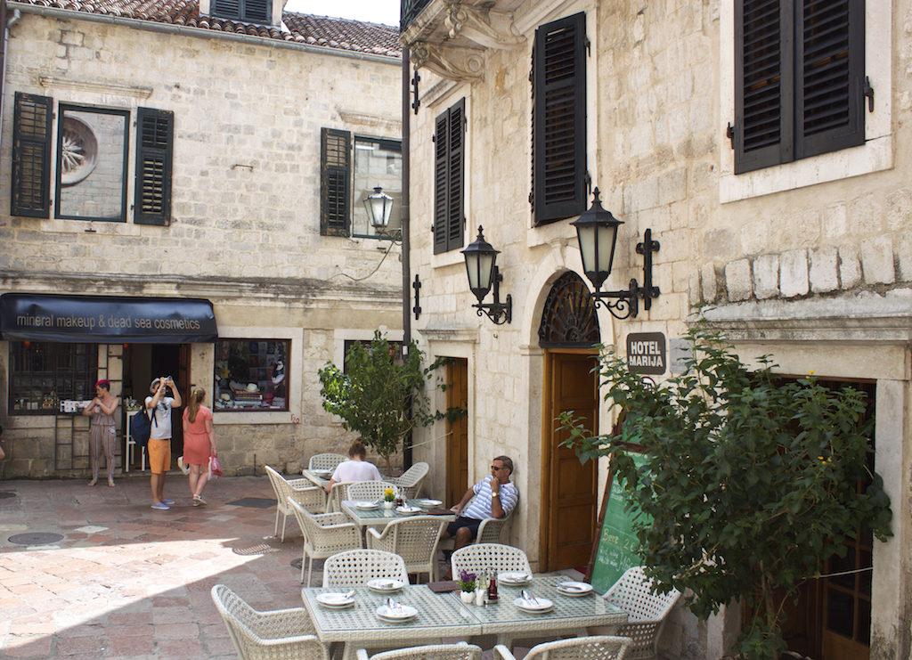 Kotor Montenegro - Restaurant Old Town