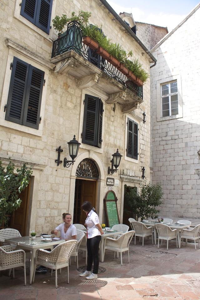 Kotor Montenegro - Restaurant Terrace
