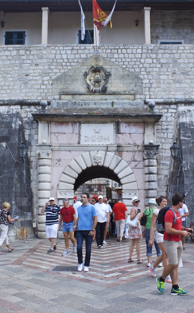 Kotor Montenegro - Sea Gate Entry