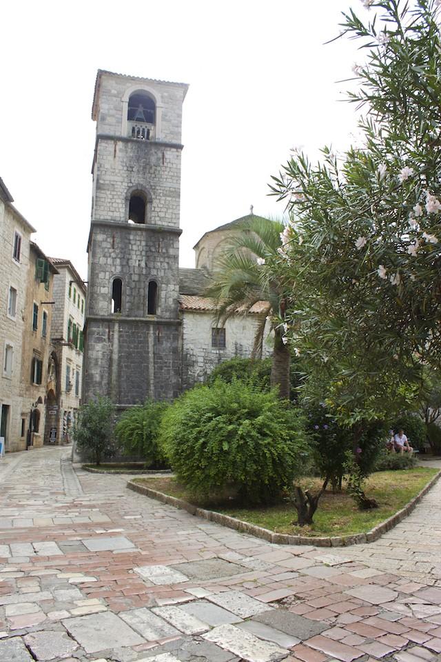 Kotor Montenegro - Tower in Old Town