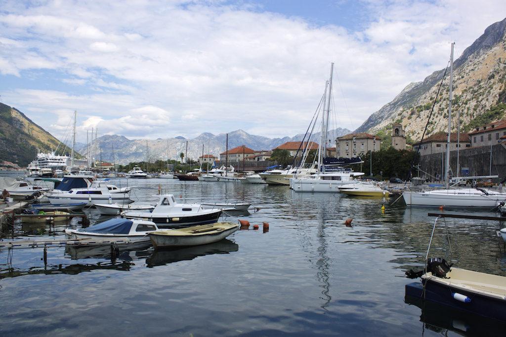 Kotor Montenegro - View of Kotor Bay