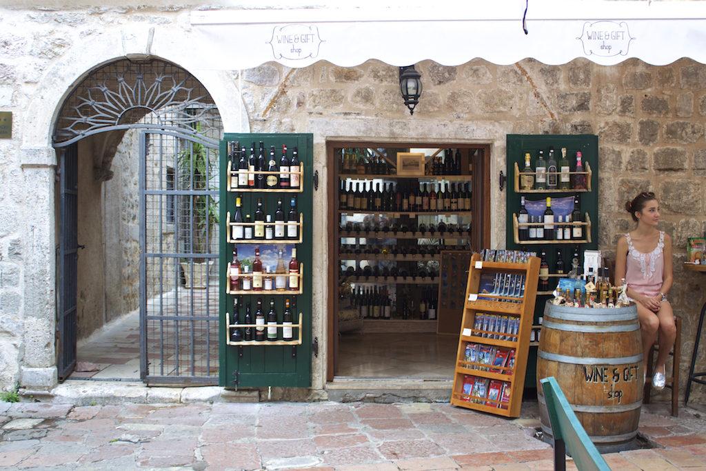 Kotor Montenegro - Wine and Gift Shop