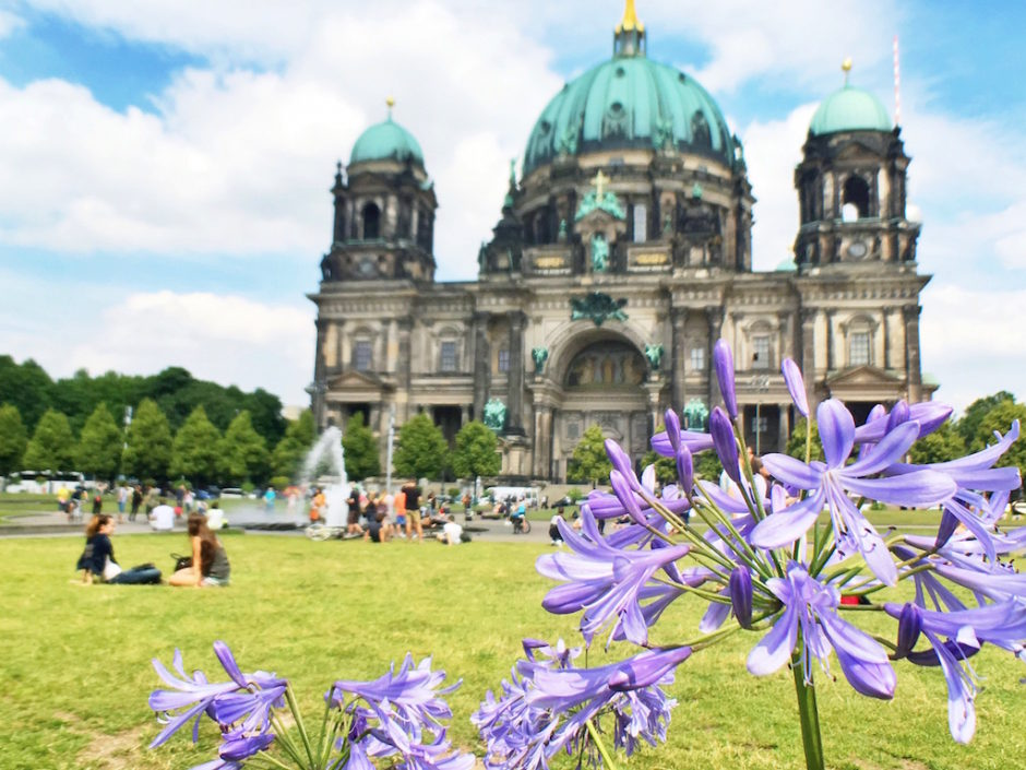 Most Photographed Landmarks in Berlin - Berliner Dom Flowers
