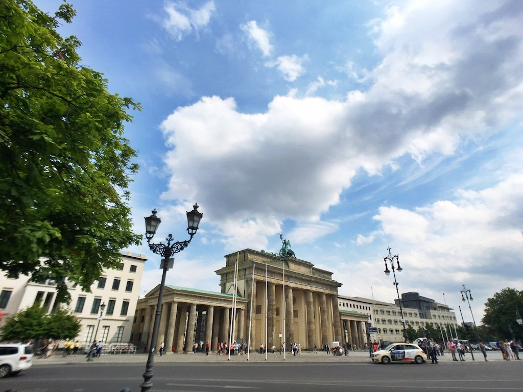 Most Photographed Landmarks in Berlin - Brandenburger Tor from Afar