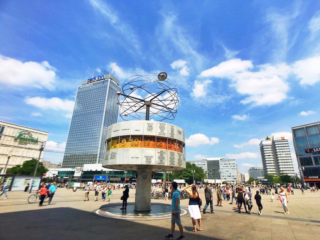 Most Photographed Landmarks in Berlin - Alexanderplatz TV Tower