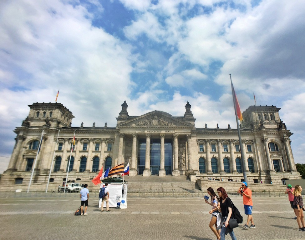Most Photographed Landmarks in Berlin - German Parliament Building