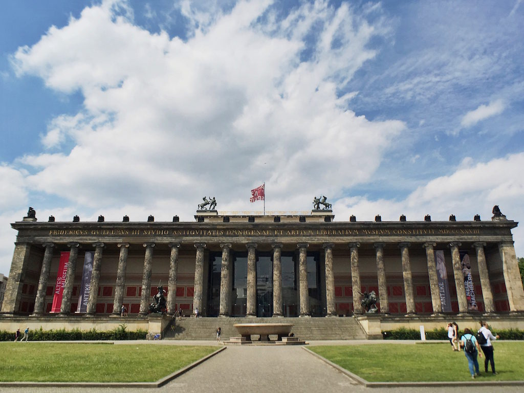 Most Photographed Landmarks in Berlin - Museum Island Altes Museum
