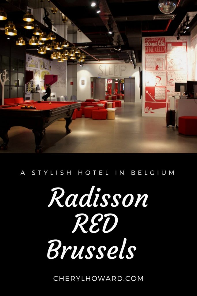 Stylish Belgium Hotels - Radisson RED Brussels