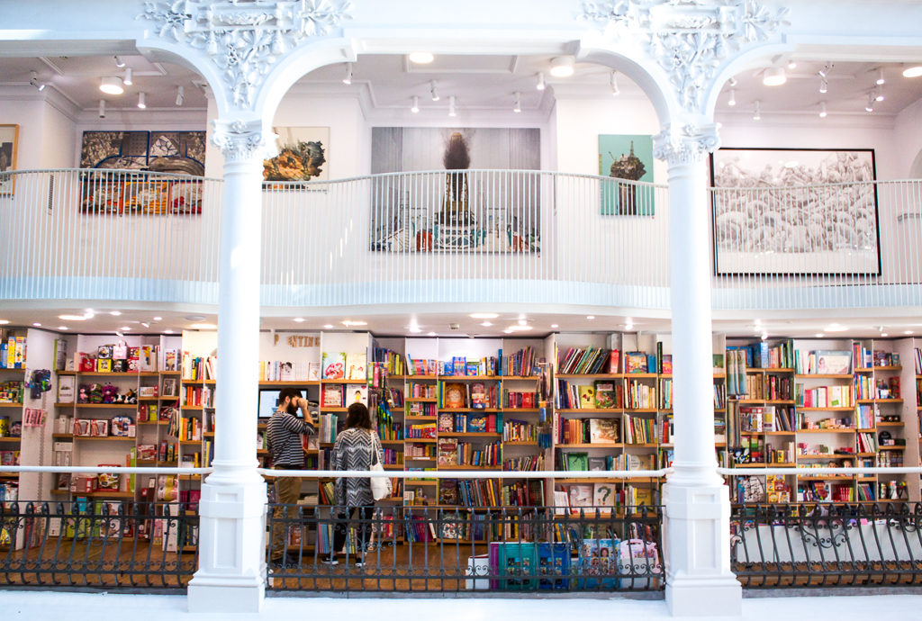 Cărturești Carusel Bookshelves