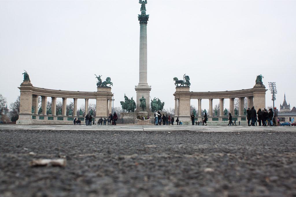 Weekend in Budapest - Heroes Square Hősök tere