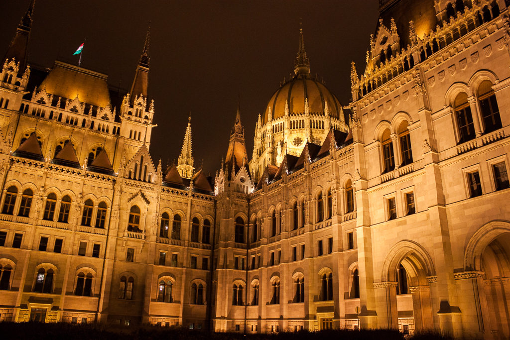 Weekend in Budapest - Parliament of Budapest