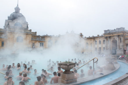 Weekend in Budapest - Széchenyi Baths
