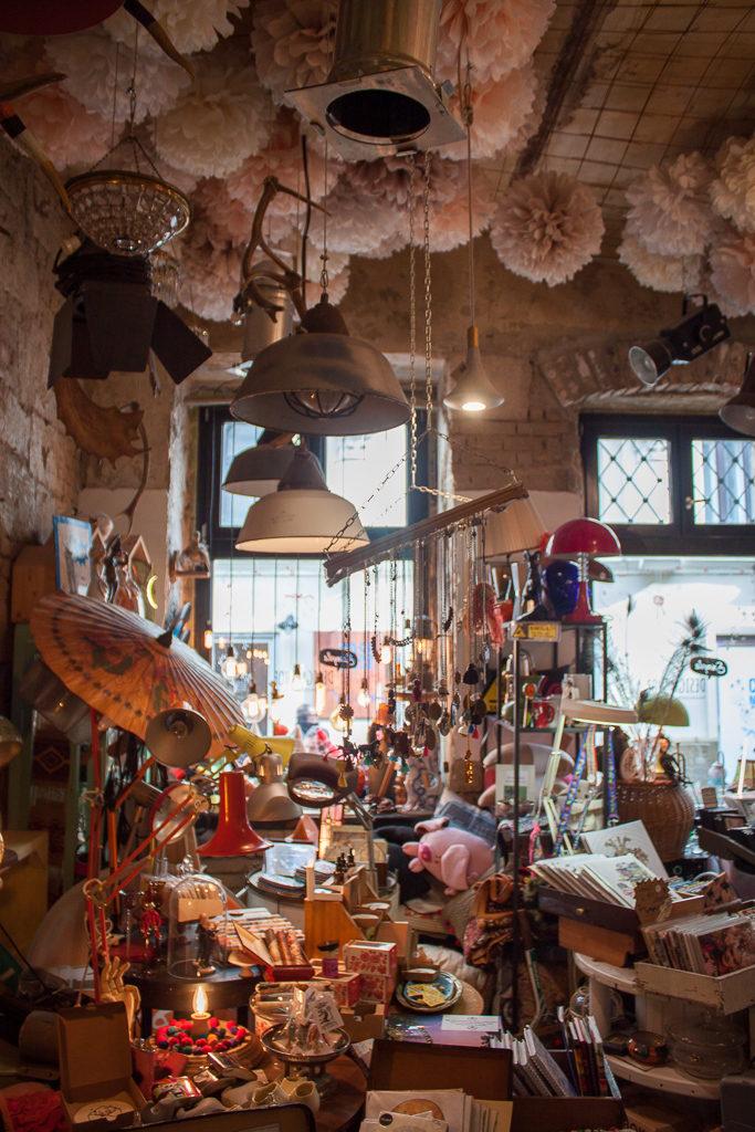 Weekend in Budapest - Szimpla Design Shop