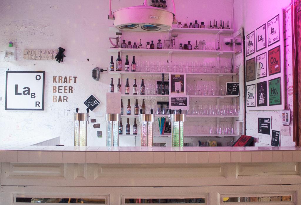 Weekend in Budpaest - Kraft Beer Bar Szimpla Kert