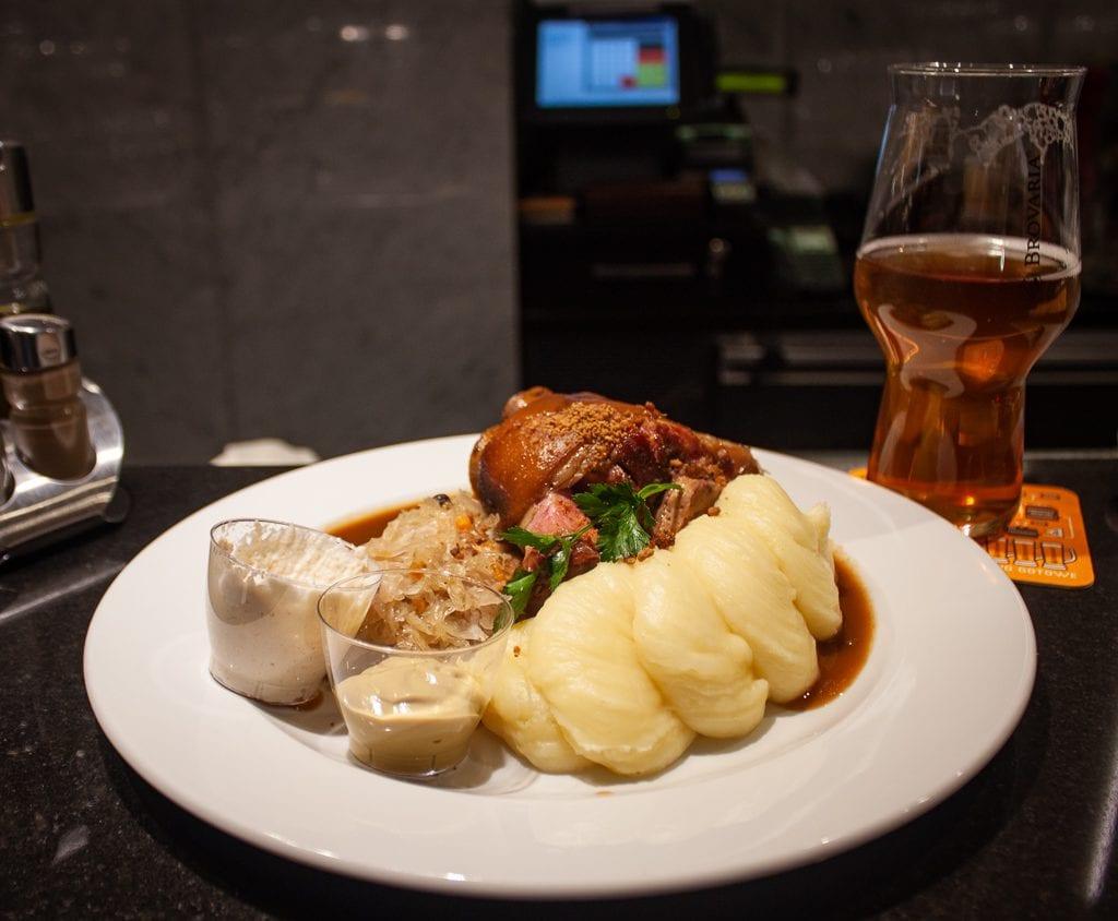 Poznan Restaurants - Brovaria Pork Knuckle