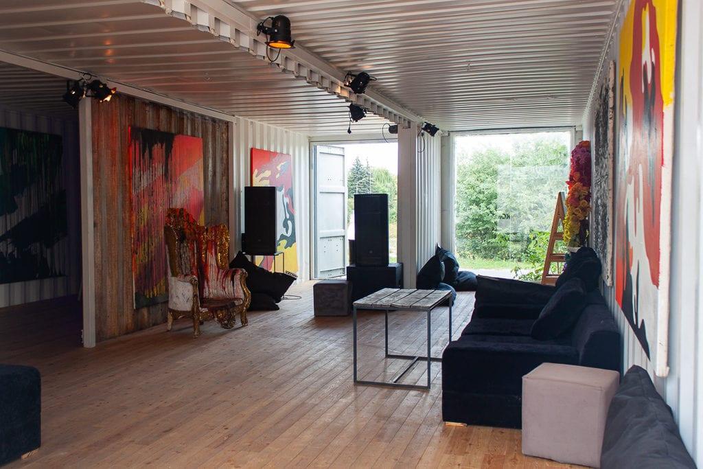 Poznan Restaurants - KontenerART Living Room Throne