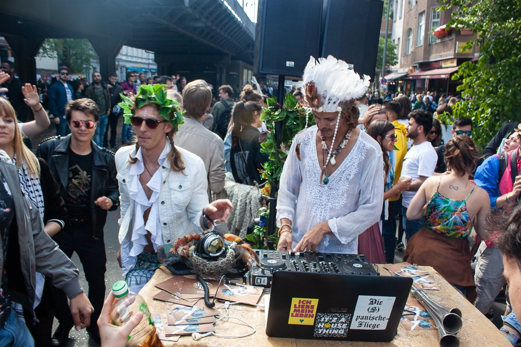 Berlin Myfest 2018 DJs