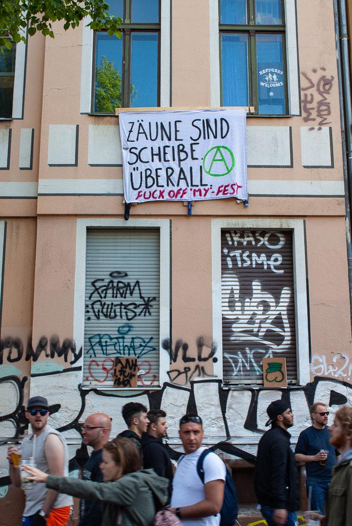 Berlin Myfest 2018 Hate
