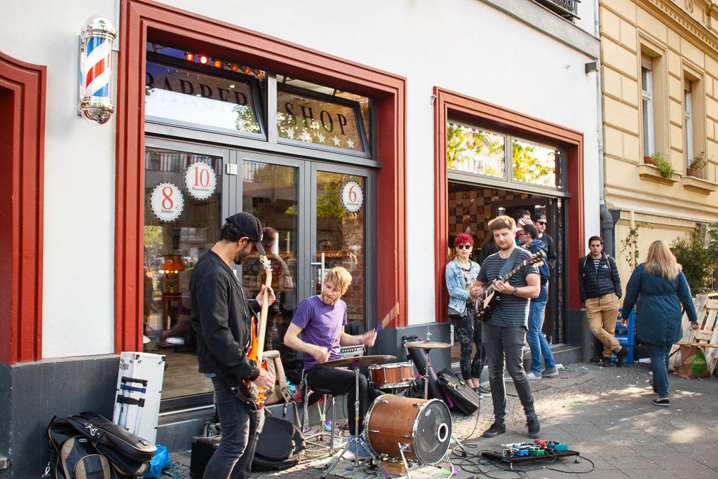 Berlin Myfest 2018 Music Band Playing