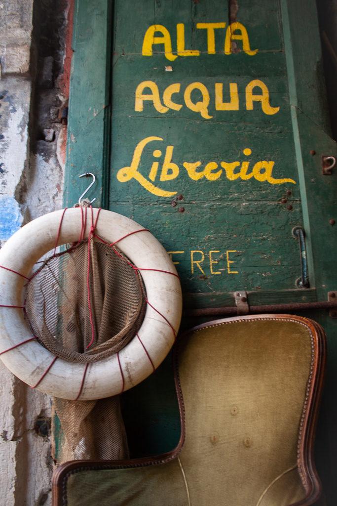 Libreria Acqua Alta Venice Italy Fire Escape