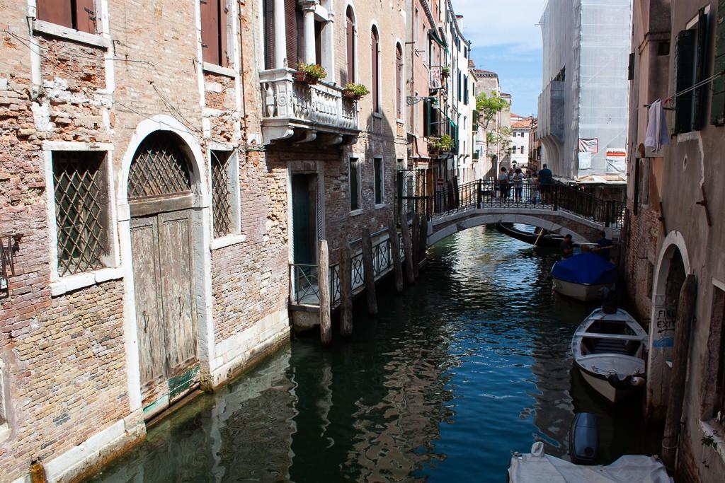 Libreria Acqua Alta Venice Italy - View Over Canal