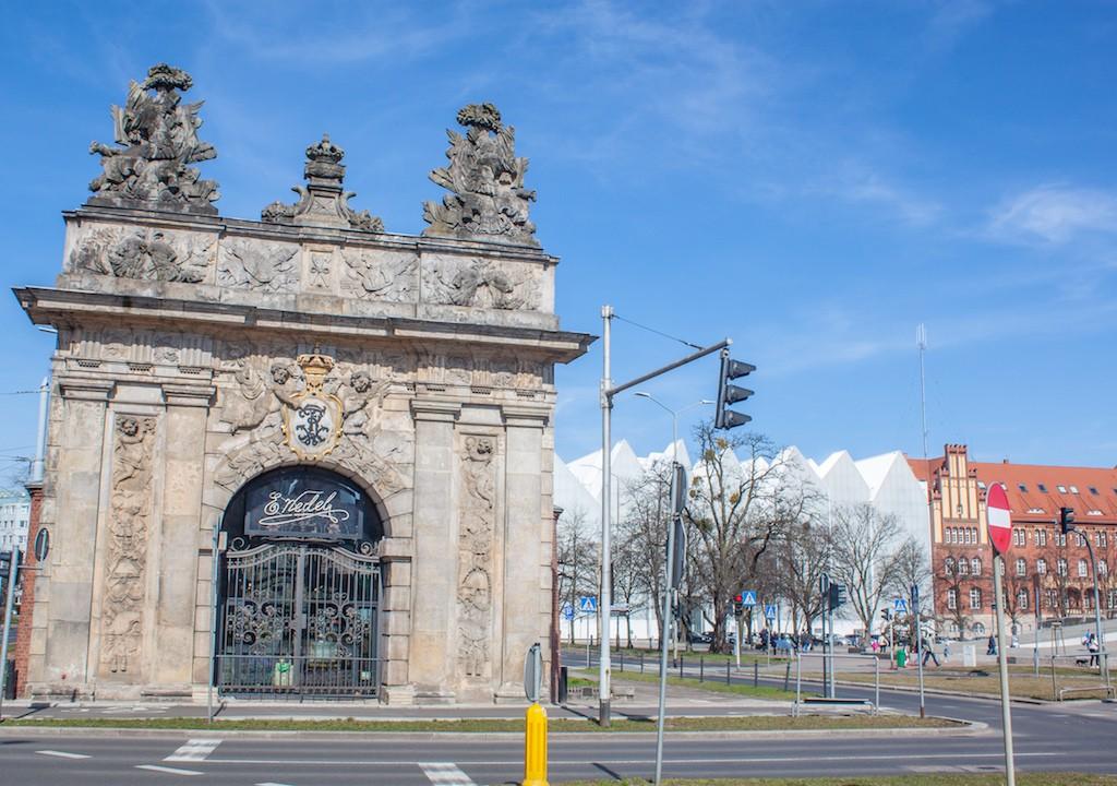 Visit Szczecin Poland - Royal City Gate Brama Królewska