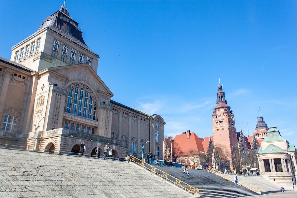 Visit Szczecin Poland - Wały Chrobrego Promenade