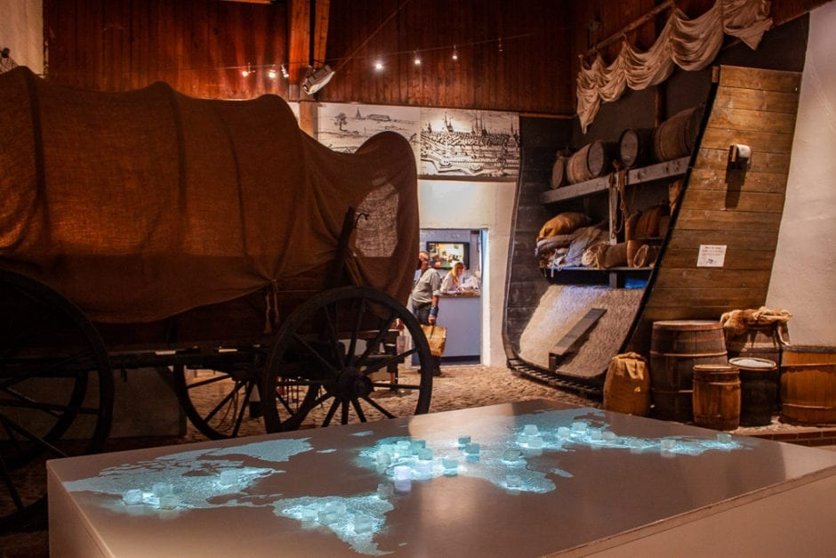 German Salt Museum - Interactive Map Covered Wagon