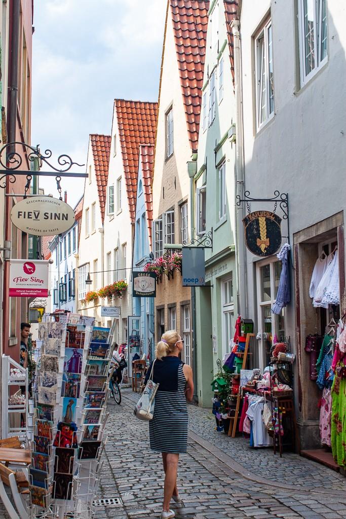 Bremen Germany - Schnoor Street